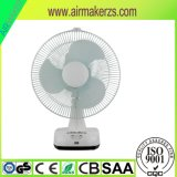 Solar 12 Inch Rechargeable Table Fan with USB & DC Socket