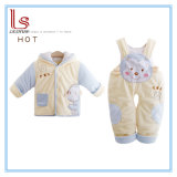 Eco-Friendly Baby Wear 66cm-90cm Clothes Winter Cute Cotton Boy and Girl Cartoon Clothing Infants Children Apparel Suit
