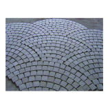 Cheap Granite Cube Stone (with Net for outdoor pavement)