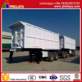 2 Axles Front/Rear Semi Trailer Dump Truck