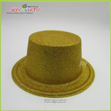 Gold Ellipse Plastic Fluorescent Party Hats