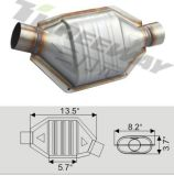 Exhaust Performance Catalytic Converter Euro4 for Small Cars & Trucks