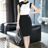 Wholesale New Women′s Middle Skirt Slit Package Hip Stretch Winter Skirt