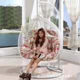 Luxury Patio Easy Cleaning Rattan Swing Chair