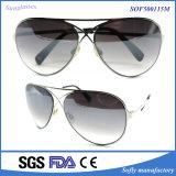 Full Set of Retro Fashion Metal Frame Sunglasses Wholesale