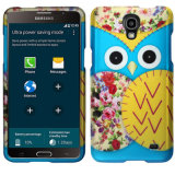 Zizo Rubberized Design Case for Galaxy Mega 2 - Blue Owl
