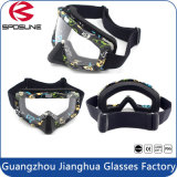 Anti Scratch Anti Wind Clear Lens Dirt Bike Moto Goggles