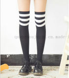 OEM Hot Sale Cotton Japanese Student Knee Stockings Socks