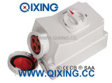 63A 4p Electric Interlocked Receptacle Switch
