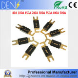 Car Stereo Audio Anl Fuse Gold Plated 80A 100A 150A 200A 300A 350A 400A 500A