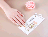 Fashionable Temporary Water Transfer Nail Sticker Art Nail Sticker