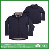 Classic Softshell Jacket Men in Black