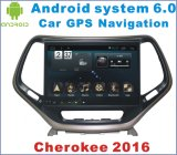 Android System Car DVD for Cherokee 2016 with Car GPS Navigation
