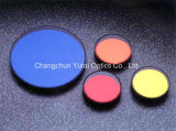 Golden Yellow Color Optical Glass Filter