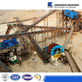 Mining Machinery 80-100t/H Line of Sand Vibrating, Washing and Dewatering