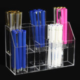 2 Tier 10 Slots Acrylic Pen Display Cup Box