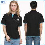 Custom Pique Polo Shirt of Work Uniform for Promotional Advertising