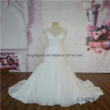 Backless Hot Sale Cheap Mermaid Lace Wedding Dress