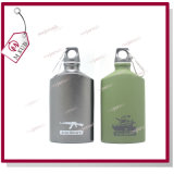 Outdoor Military Sports Cycling Camping Aluminum Alloy Water Bottle 500ml