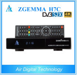 Hottest Product Zgemma H7c DVB-S2X + 2*DVB-T2/C 4k Uhd Satellite/Cable Receiver