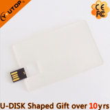 Customerized Gift Transparent Credit Card USB Flash Disk (YT-3114-02)