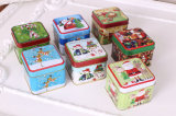 Christmas Embossed Cookie Tin Box