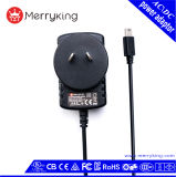 SAA CB Listed 6V 1.5A AC DC Power Supply Adapter