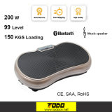 Black Whole Body Vibration Plate Fitness for Sale