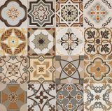 600*600mm Glazed Decoration Tile Rustic Floor Tile Wall Tile for Hotel Decoration Spanish Style No Slip Sh6h005/06