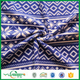 Customized Shrink-Resistant blue Printed Polar Fleece for Blanket