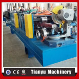 Down Square Pipe Bending Curving Roll Forming Machine