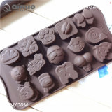 Non Stick 3PC Silicone Candy Molds for Cake Decoration, Ice Cubes