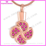 Memorial Jewelry Necklaces & Pendants Leaf Pendant with Crystals