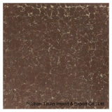 600X600mm Building Materials Red Pilate Polished Porcelain Floor Tile (TJ6206)
