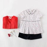 100% Cotton Summer T-Shirt Kids Clothes for Girls