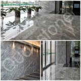 Natural Polished Silver Mink Marble Arch for Decor