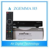 2016 New Fatest CPU Version Zgemma H5 Combo Receiver with Hevc/H. 265 DVB-S2+T2/C Twin Tuners