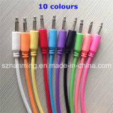 3.5mm Male to Male to Male Extension Audio Cable --Colorful