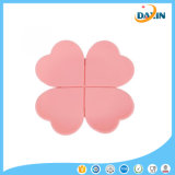 Fashion Flower Placemat Silicone Insulation Pad for Tea Cup Coffee Glass