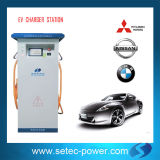 Dual Charging Arm EV DC Fast Charging Pile with SAE Combo IEC or Chademo
