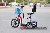 12 Inch 500W/800W 3 Wheels Electric Scooter with Seat