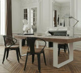 Solid Wooden Dining Table Living Room Furniture (M-X2898)