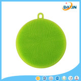 Kitchen Tool Colorful Durable Heat-Resistant Food-Grade Silicone Dish Washing Brush