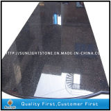 Natural Stone Black Galaxy Granite Floors for Kitchen/Bathroom Tiles