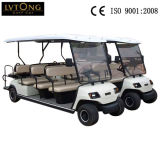 Yellow 11 Seats Electric Golf Vehicle on Sale