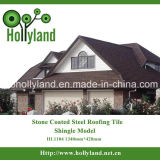 Stone Coated Roof Tile of Metal 2015 New Building Materials
