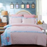 Luxury Embroidery Cotton Patchwork Designer Duvet Cover Bedsheet Bedding