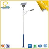 LED Solar Outdoor Light, 6m Pole 30W LED Design
