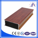 Aluminium Alloy Wood Grain Aluminum Profile