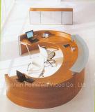 Unique Design Rchalf Round / Curved Reception Desk (LT-E408)
